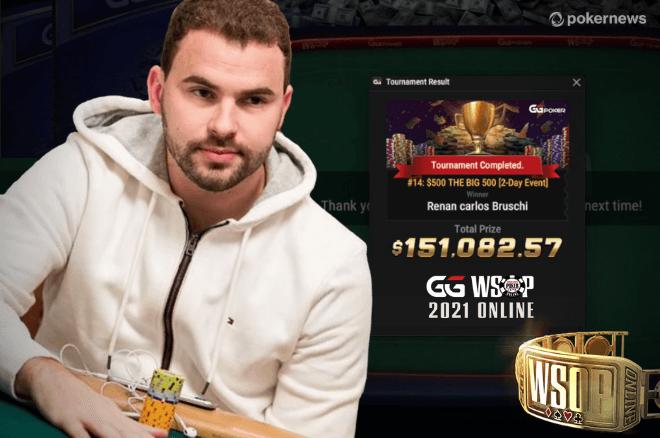 Renan Bruschi conquista primeiro bracelete WSOP da carreira