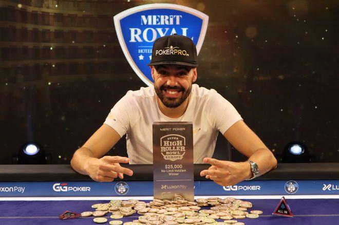 "Johan ""YoH ViraL"" Guilbert memenangkan SHRB Europe Event #2: $25.000 NLHE"