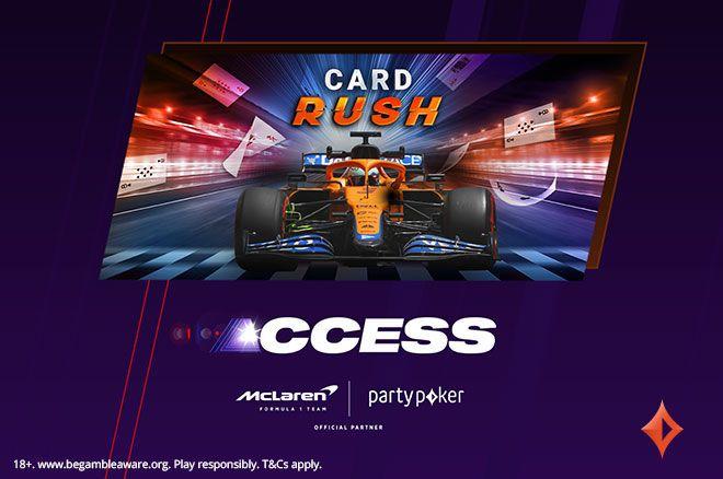 partypoker McLaren Card Rush