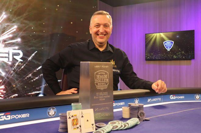 Tony G wins Sshrb europe Event #7: $100,000 short deck