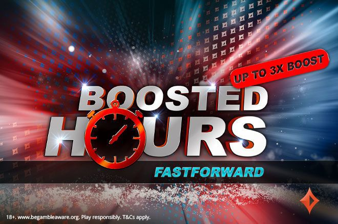 partypoker Boosted Hours fastforward