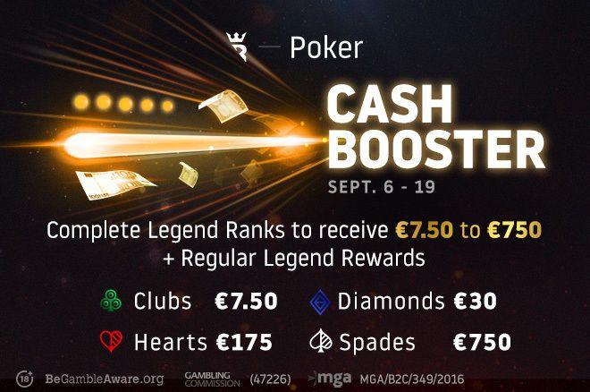 Run It Once Poker Cash Booster