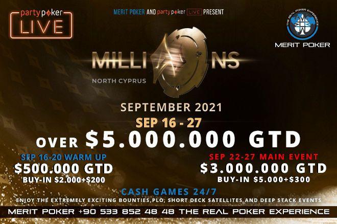 Merit Poker MILLIONS North Cyprus