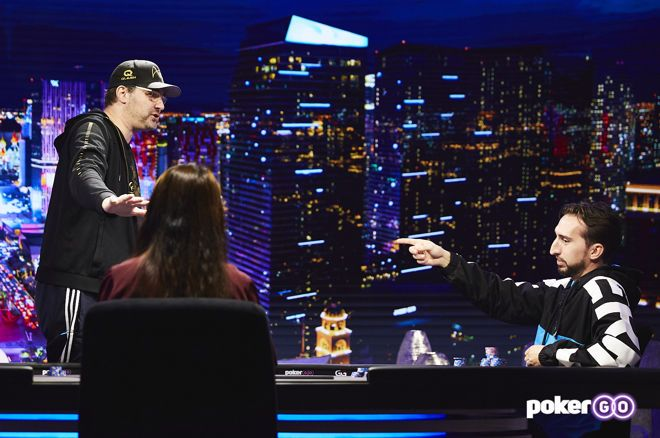 Phil Hellmuth and Nick Wright