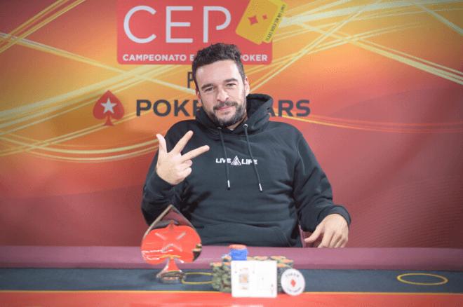 Henrique Rodrigues vence Main Event do CEP Barcelona 2021