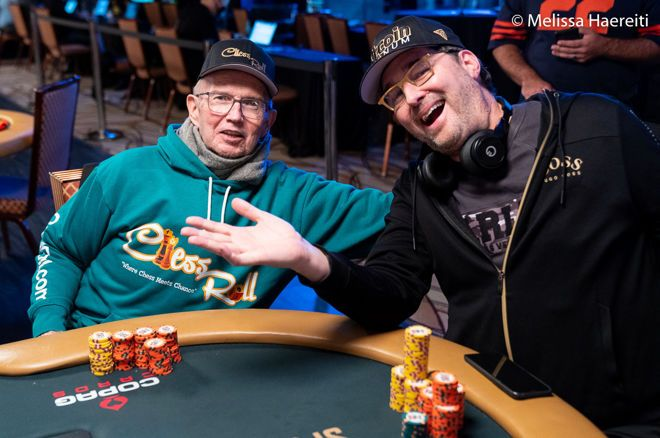 Jack McClelland and Phil Hellmuth