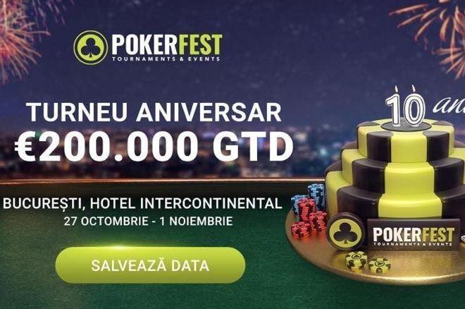 PokerFest 10 years aniverssary festival