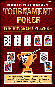 Tournament Poker for Advanced Players, 21st Century Edition