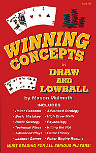Winning Concepts in Draw and Lowball
