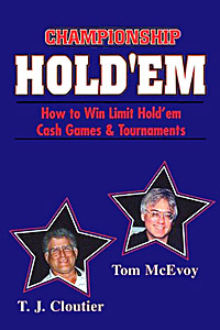 Championship Holdem Cloutier & McEvoy