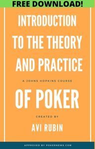 (FREE) Introduction to the Theory and Practice of Poker