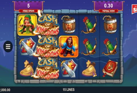 Online Slots Game  Cash of Kingdoms