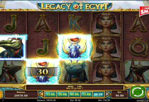 Video Slot Machine Legacy of Egypt