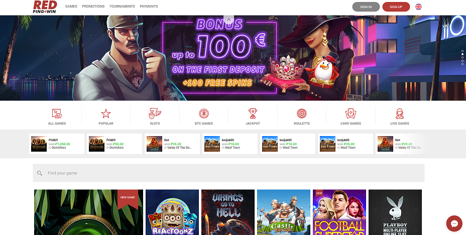 официальный сайт казино red ping win новое зеркало