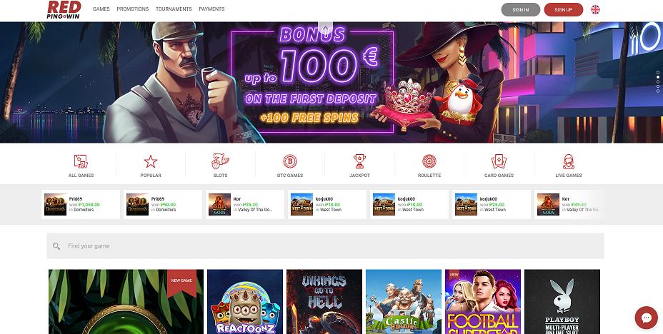 казино red ping win альтернативный сайт