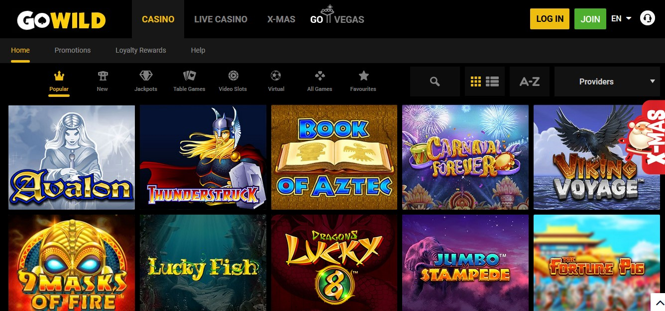 Www.Go Wild Casino