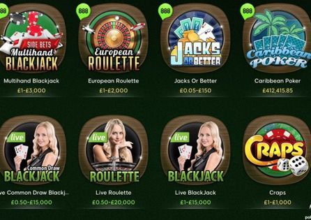 888Casino is a great site for Online Slots
