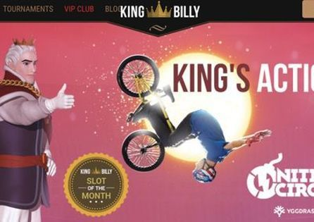 Welcome to the official PokerNews review of King Billy Casino