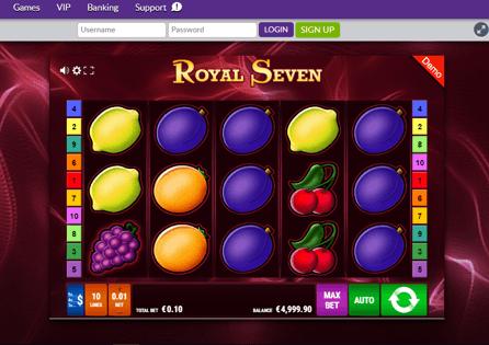 OmniSlots Casino Gameplay