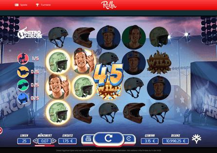 Rolla Casino Gameplay