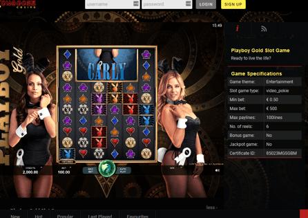 Mongoose Casino Gameplay