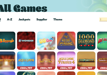 7Casino Games Section