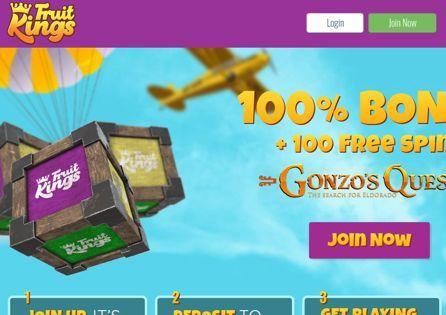 Fruit Kings Homepage