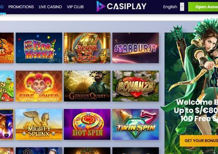 Casiplay Casino Game Selection