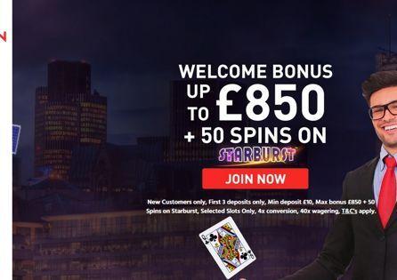 Great Britain Casino Homepage