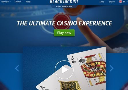 Blackjackist Casino Homepage