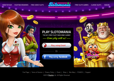 See what Slotomania has to offer at its homepage