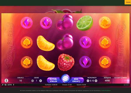 Mr. Green Casino Gameplay
