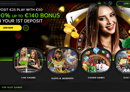 See what 888casino has to offer to you at their homepage