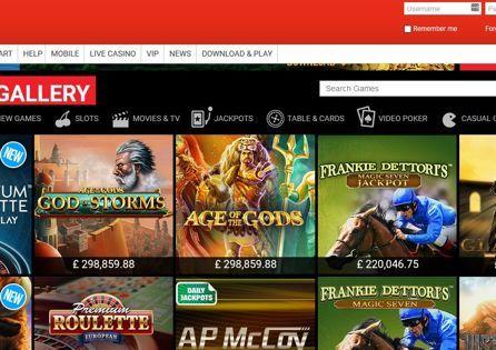 Ladbrokes Casino Game gallery