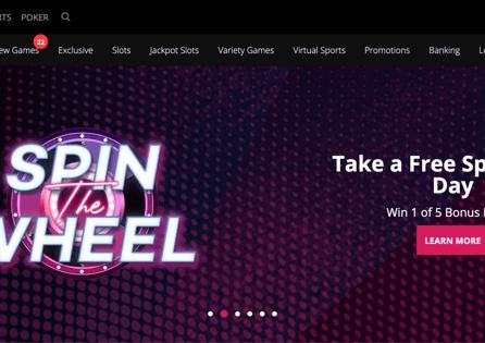 Special Borgata Casino promotion Spin the Wheel