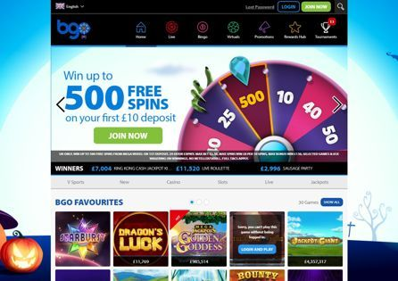 BGO Casino offers a Weekly Rewards Scheme based on how much you play