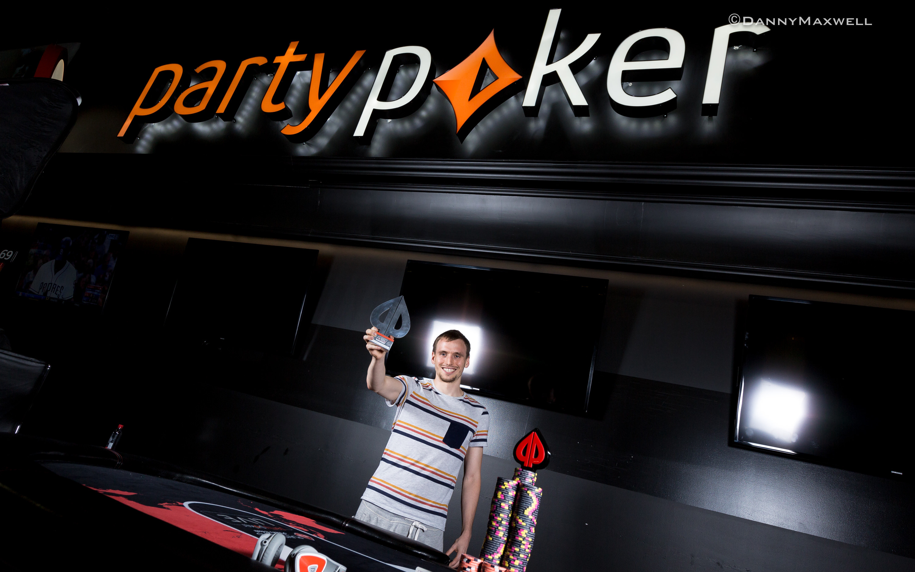Charles La Boissonniere - partypoker World Cup of Cards$1,100 Playground1000 Wi