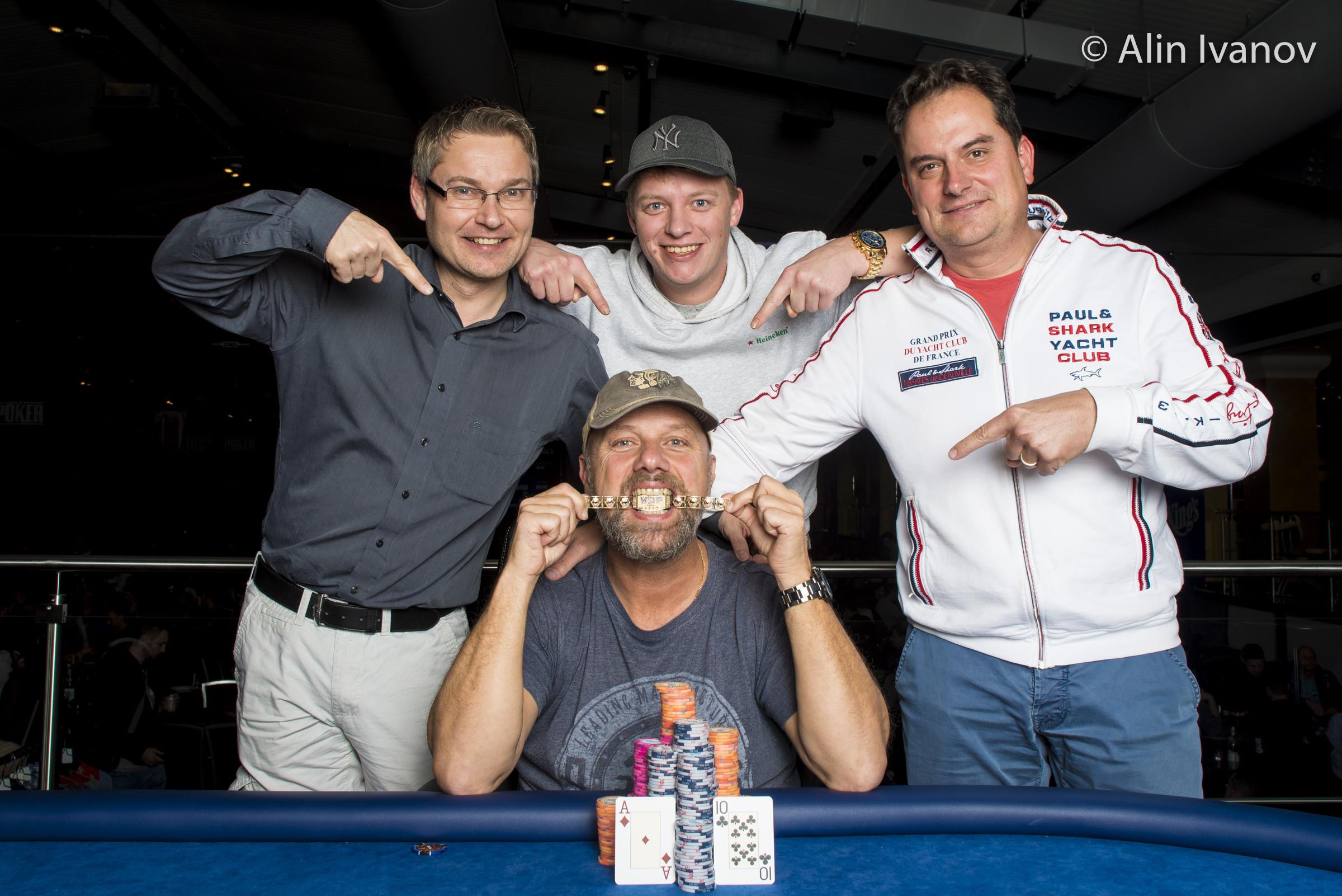 Albert Hoekendijk, WSOPE Event #9 Winner