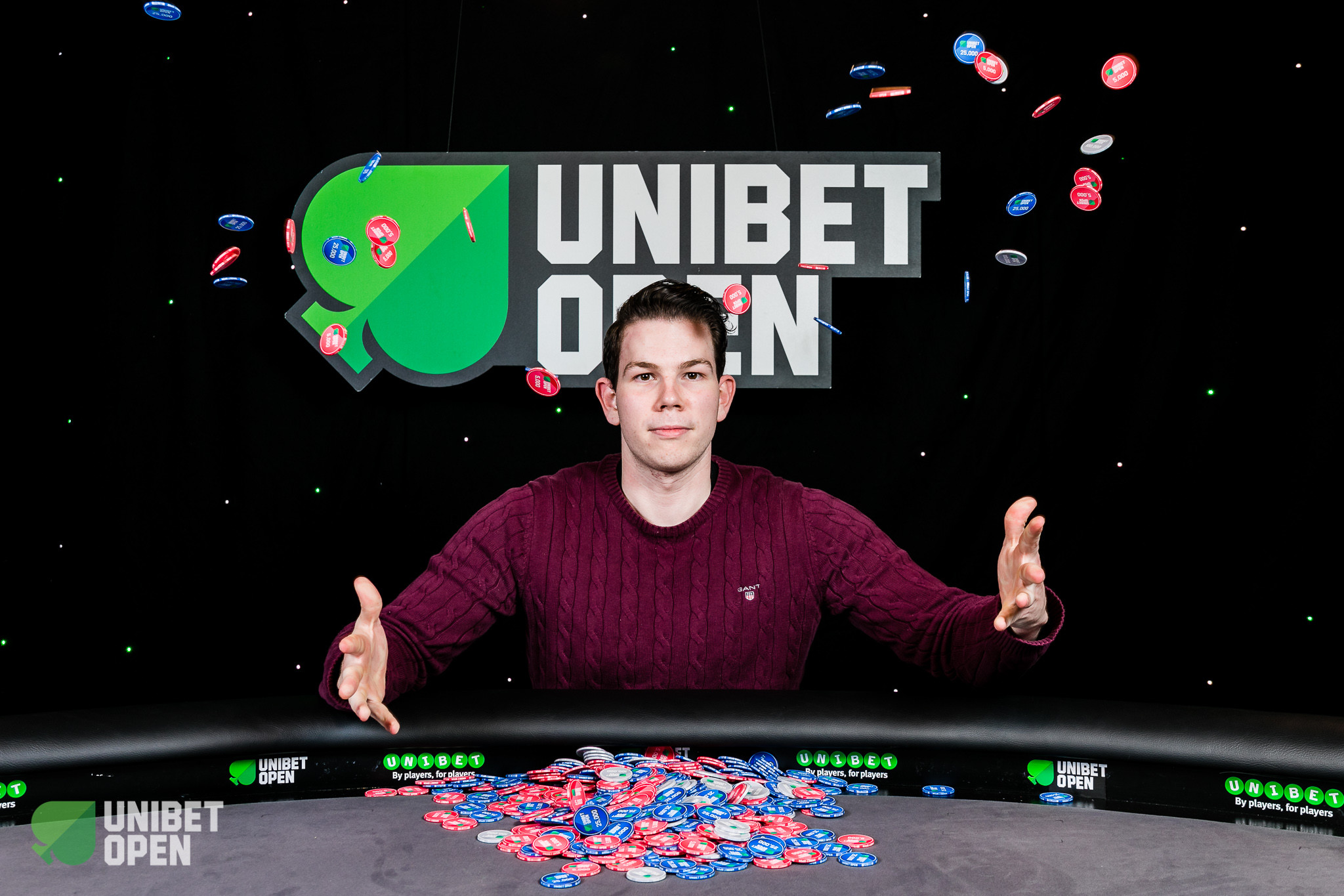 Andreas Wiborg Wins the 2018 Unibet Open London Main Event
