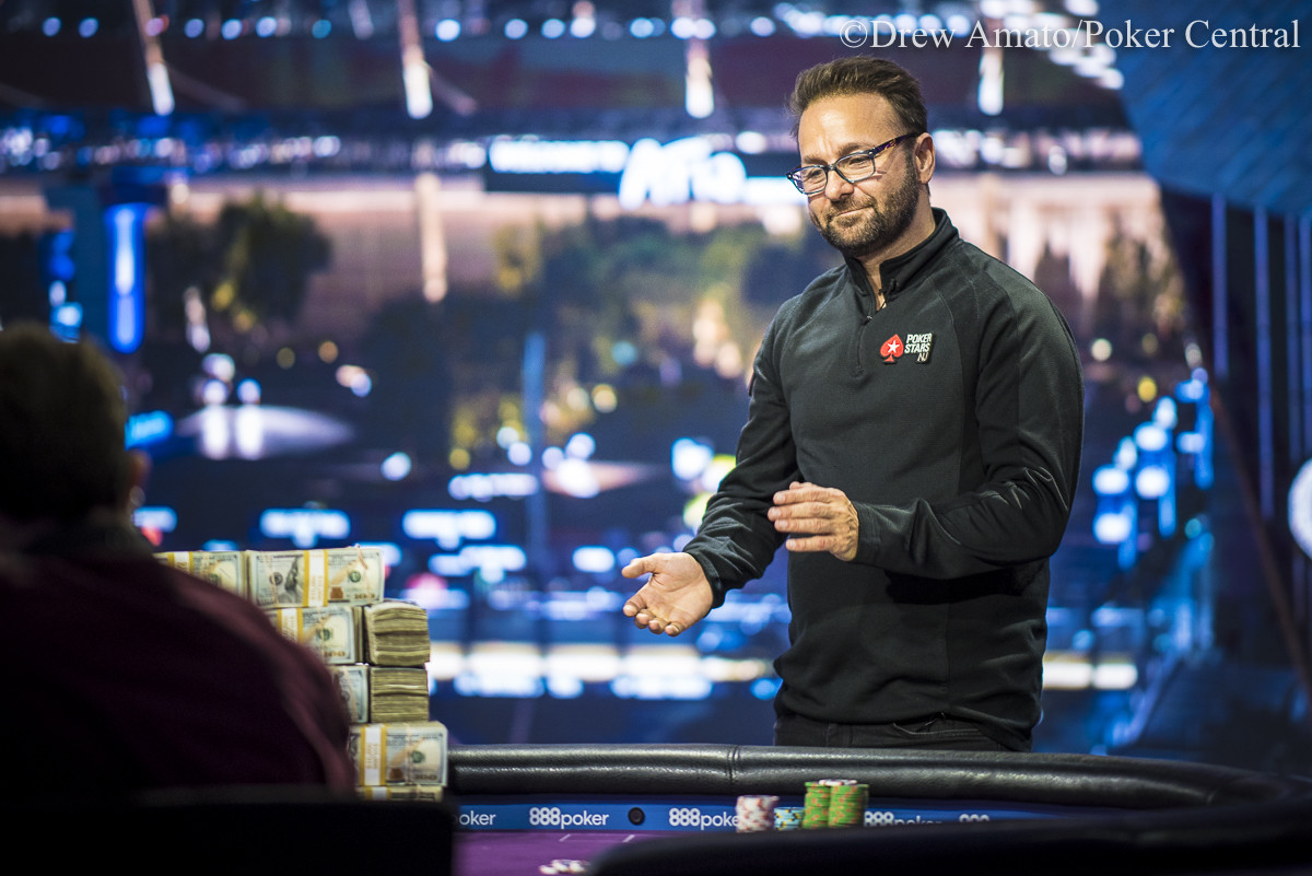 Daniel Negreanu Eliminated