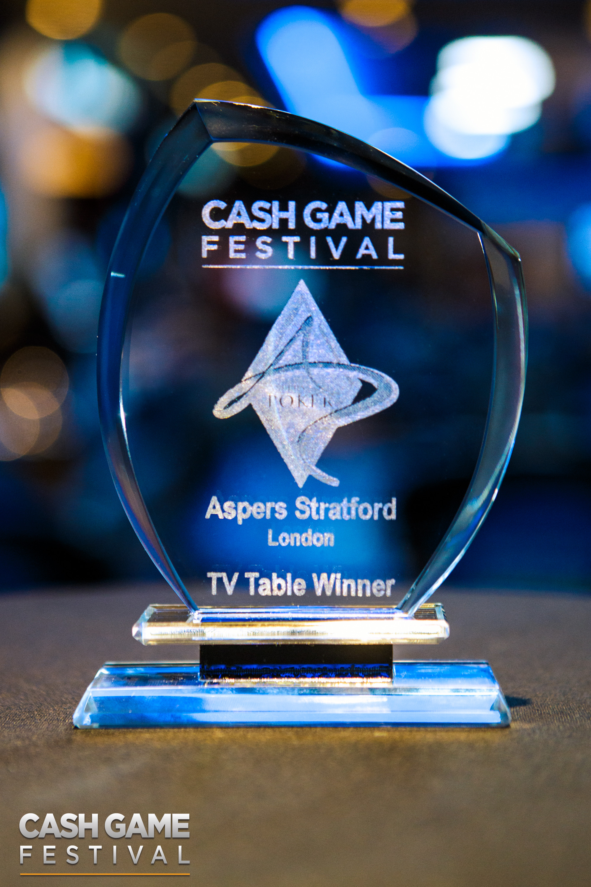 Cash Game Festival London Trophy