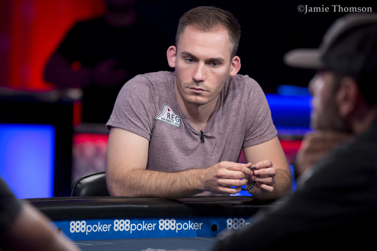 Justin Bonomo leads the final table
