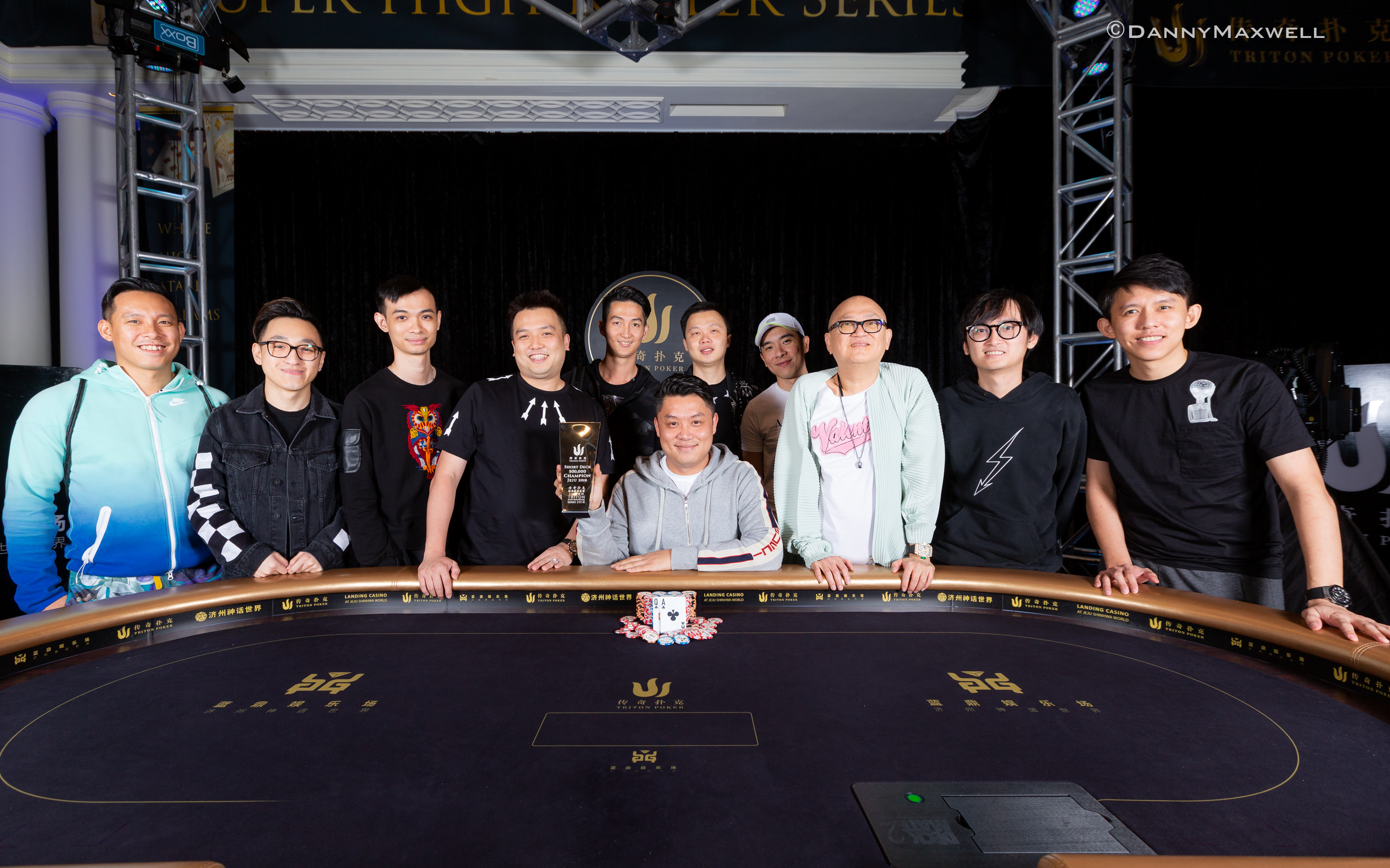 Ivan Leow Wins HK$500k Triton Hold'em Event in Jeju