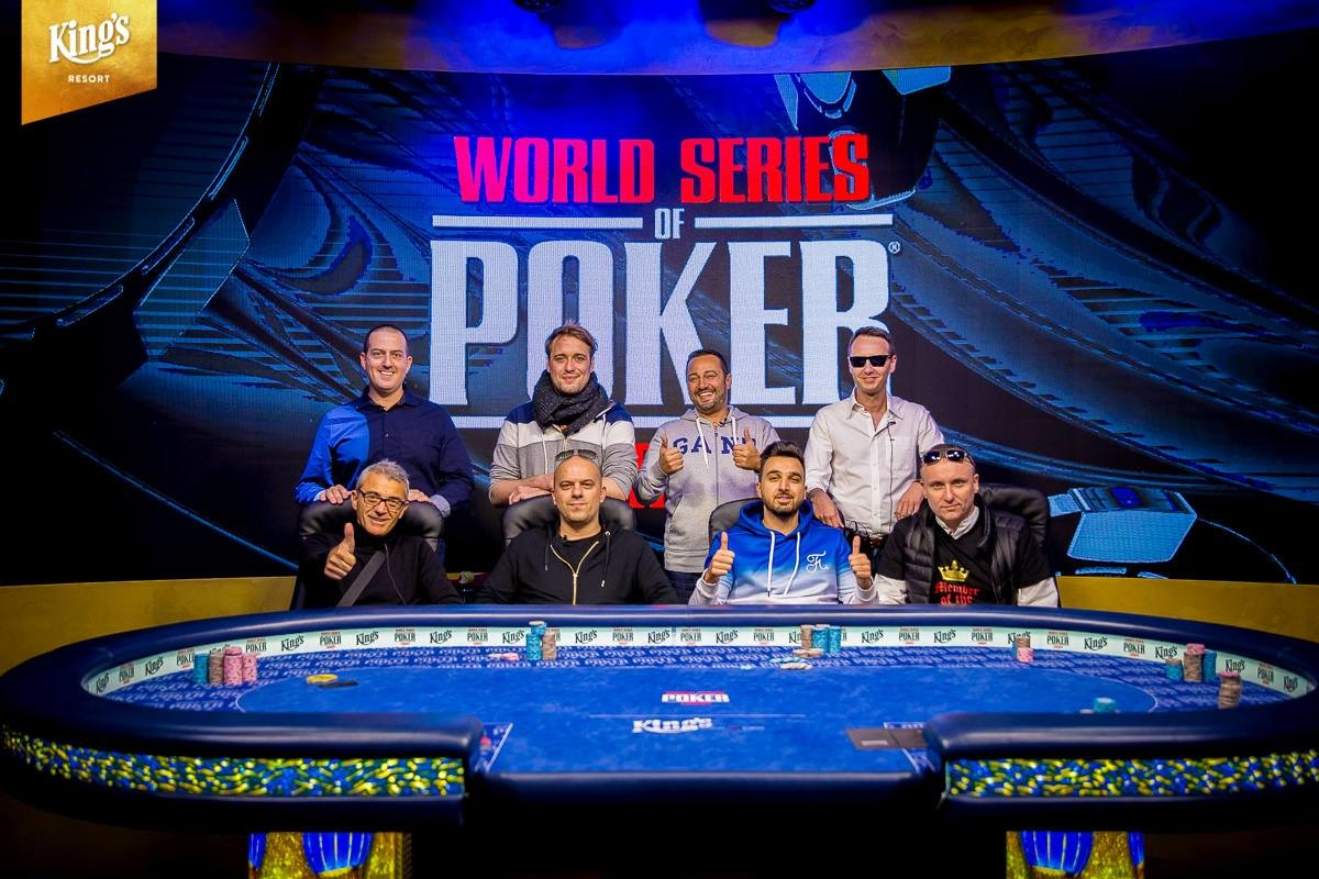 2018 WSOPE COLOSSUS Final Table