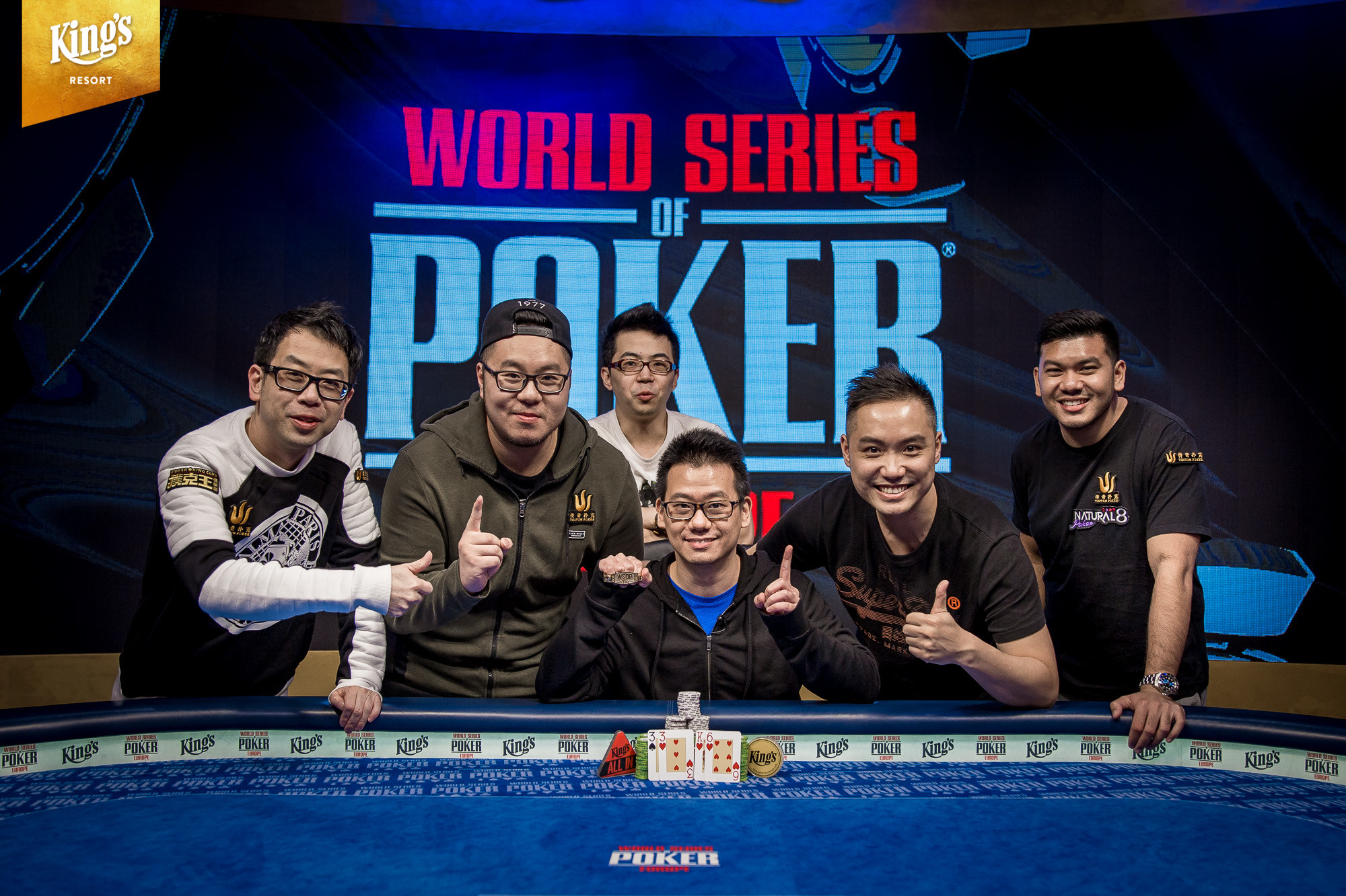 Anson Tsang Wins Event #7: €2,200 Pot-Limit Omaha 8-Handed