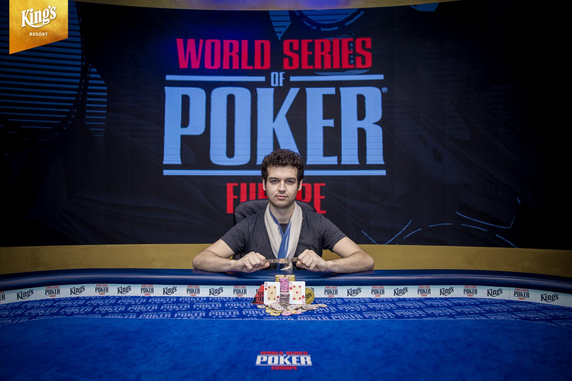 Michael Addamo Wins Event #8: €25,500 No-Limit Hold'em Super High Roller