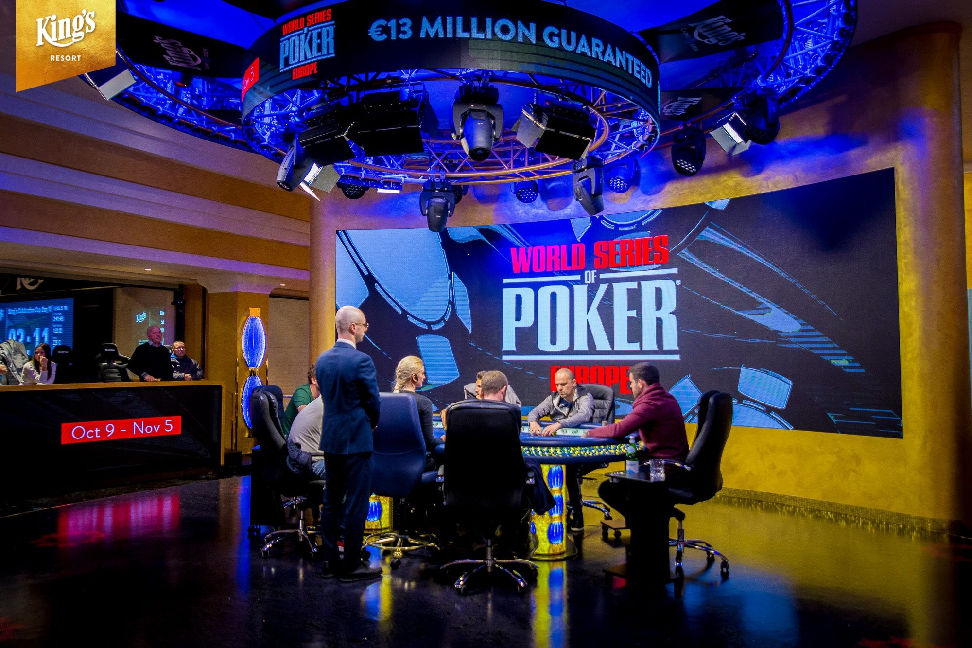 WSOP Europe Main Event Final Day