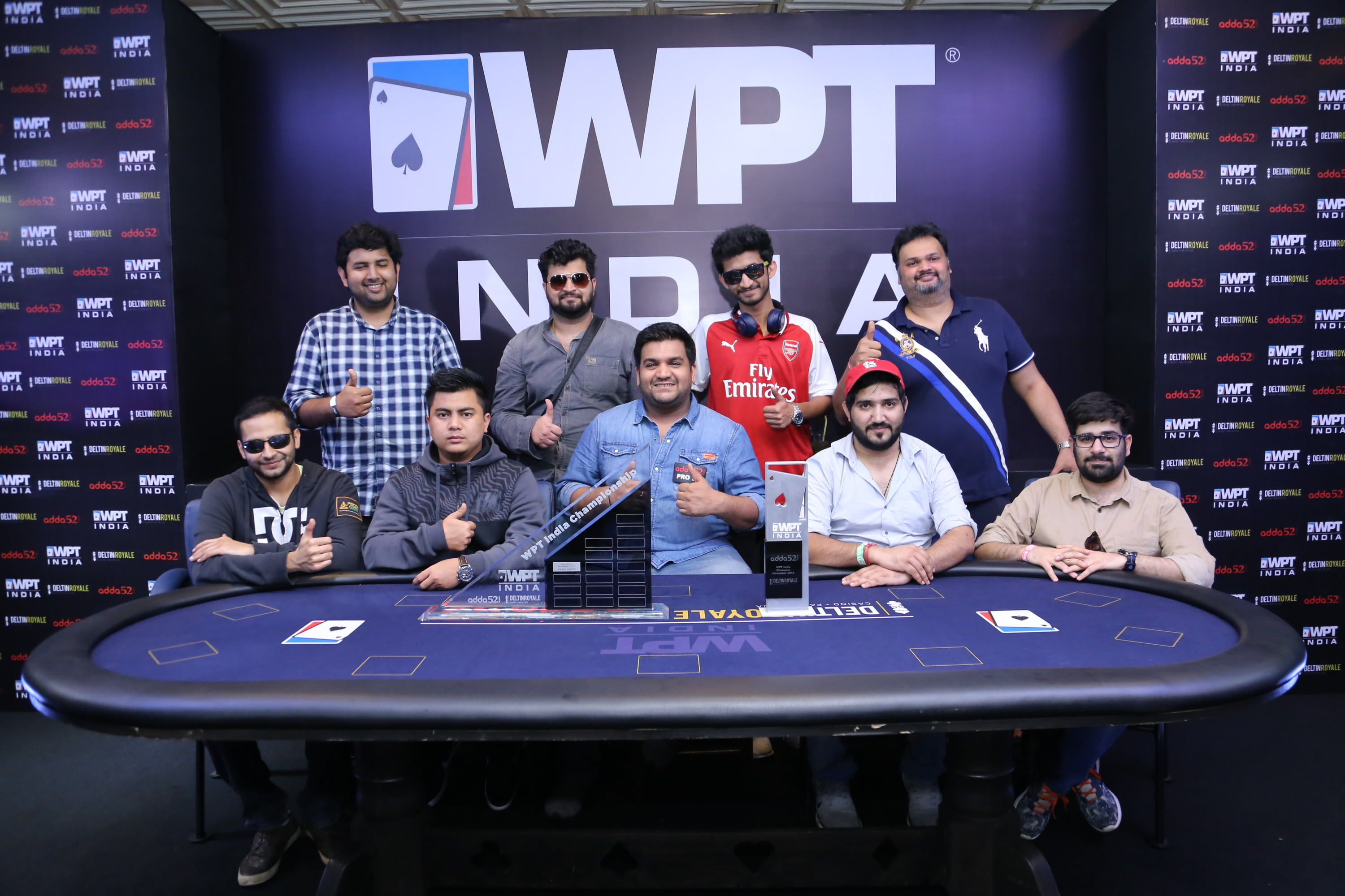 WPT India Main Event Final Table