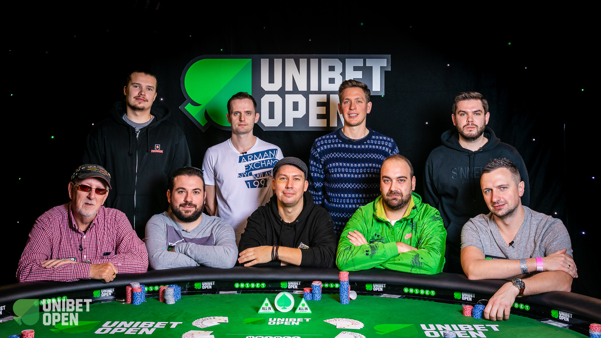 Unibet Open Dublin Final Table