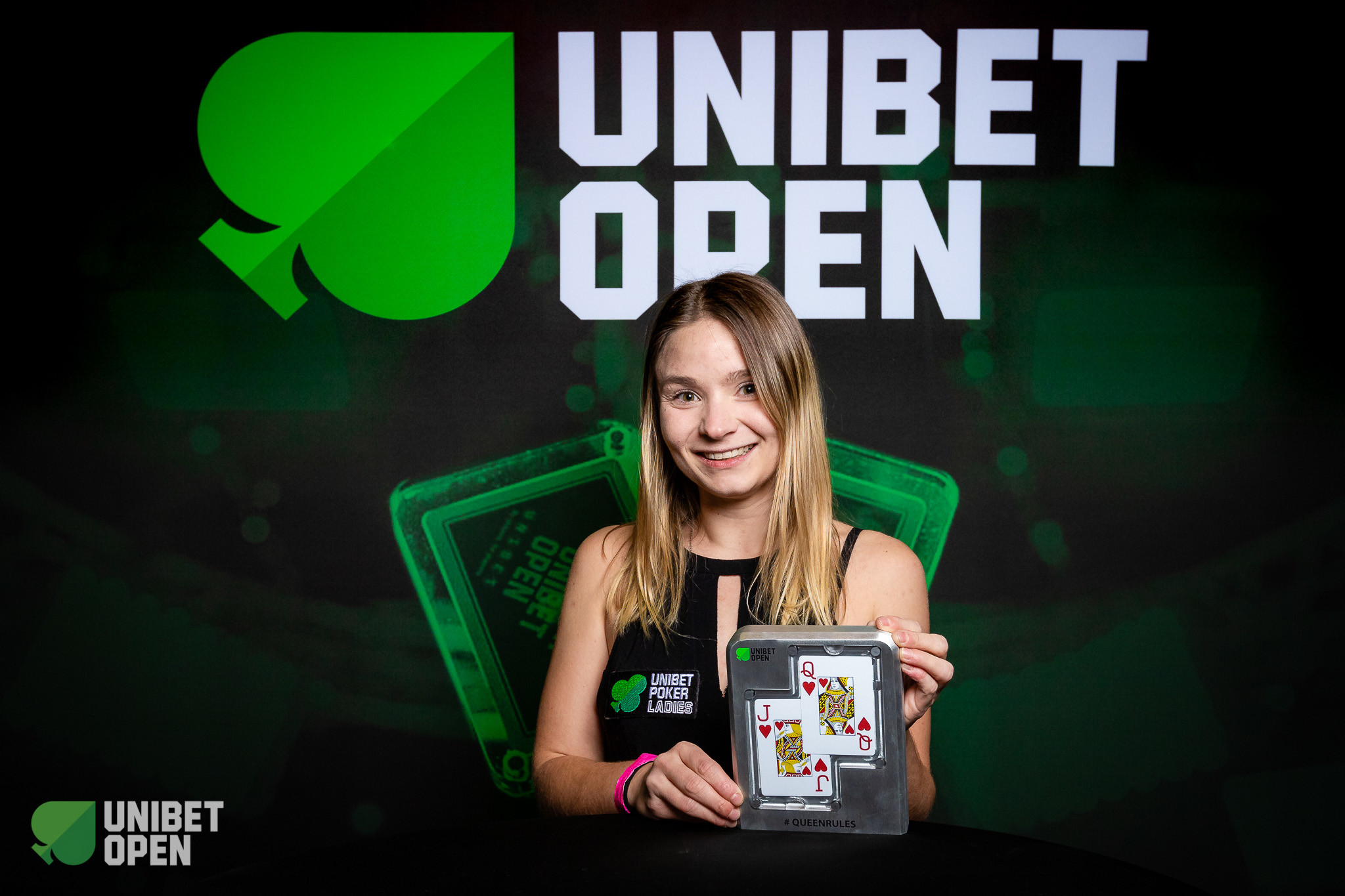 Queen Rules champion Emelie Svenningsson